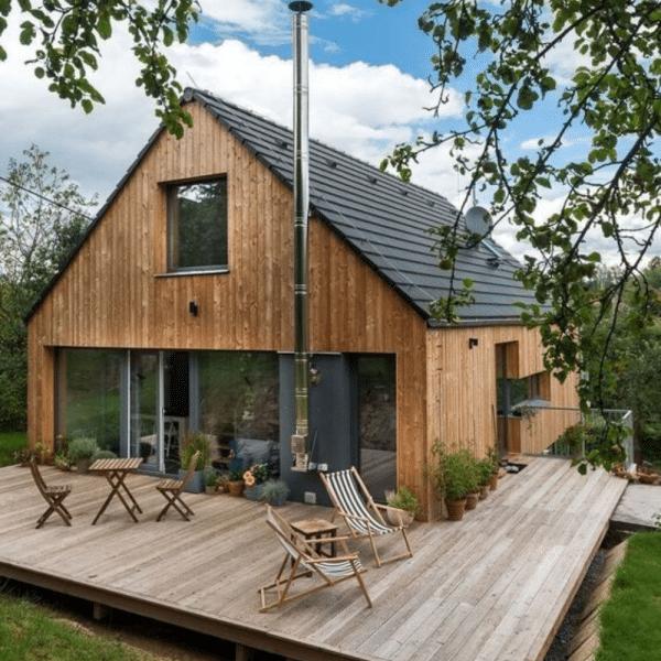 Quel forme de maison coûte le moins cher ?